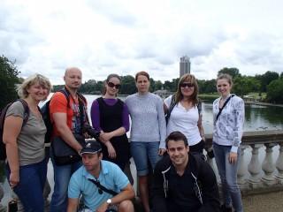 Devět statečných v Londýně